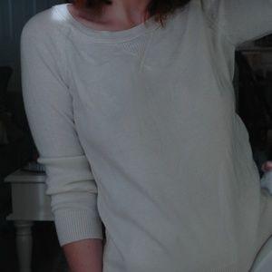 White Gap Crewneck Sweater